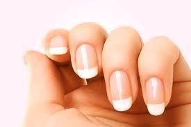 Nail strengthening manicure