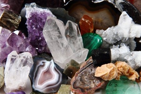 The benefit of crystals – the history